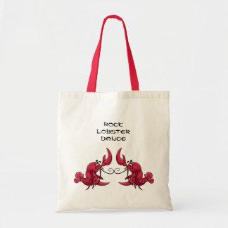 Rock Lobster Dance Tote Bags