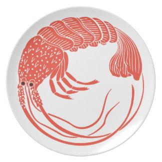 Rock Lobster Dinner Plate
