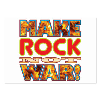 Rock Make X Large Business Cards (Pack Of 100)