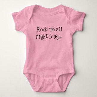 Rock me all night long... baby bodysuit
