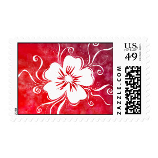 Rock-me-Red Pansy Stamp