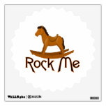 Rock Me Rocking Horse Room Stickers