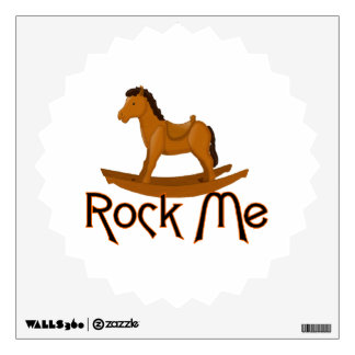 Rock Me Rocking Horse Wall Sticker