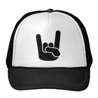 Rock Metal Hand Trucker Hat