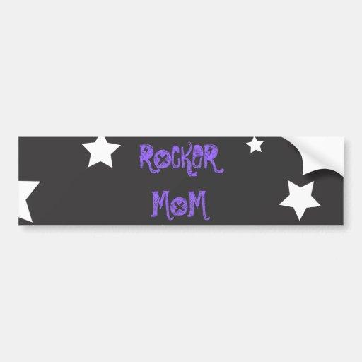 rock mom bumper stickers