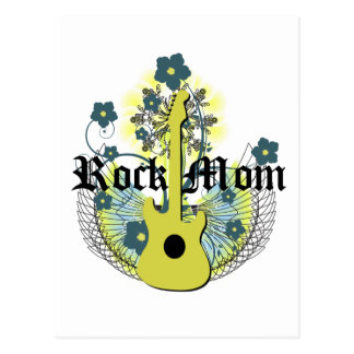 Rock Mom Postcard