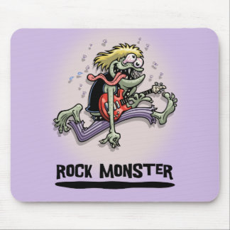 Rock Monster Mouse Pad