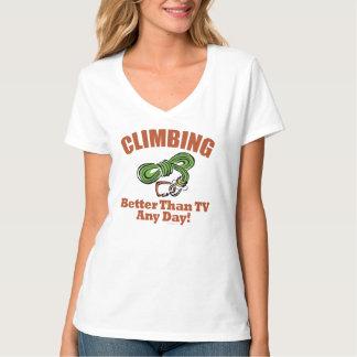 Rock, Mountain Climbing T Shirt