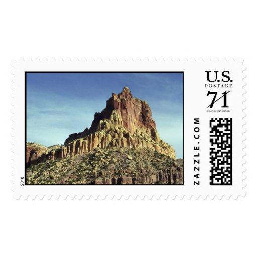 Rock Mountain Summit – Large Postage Stamp