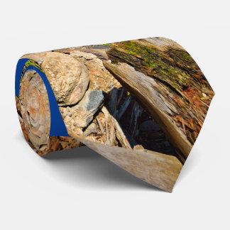 Rock mountain top neck tie