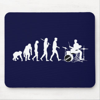 Rock Music Drummer and Jazz Dubstep Drums Mouse Pad