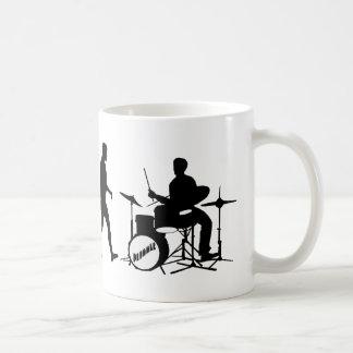 Rock Music Drummer and Jazz Dubstep Drums Mug
