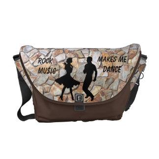 ROCK MUSIC-MESSENGER BAG