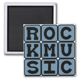 Rock Music, Music Genre Refrigerator Magnets