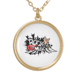 Rock Music Necklace
