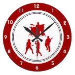 Rock Music Wall Clocks