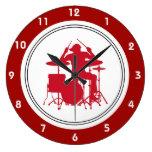 Rock Music Wall Clocks Wall Clock