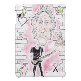 Rock Music Wall Funny Caricature Drawing Tablet iPad Mini Cover