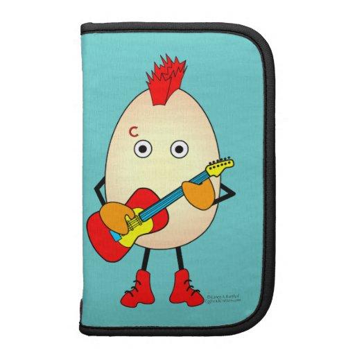 Rock Musician Egghead Organizers