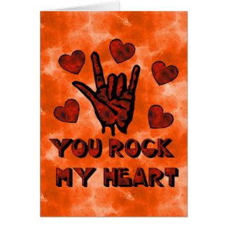 Rock My Heart Card