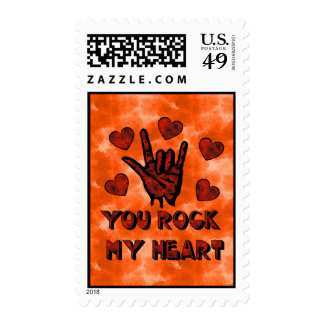 Rock My Heart Postage