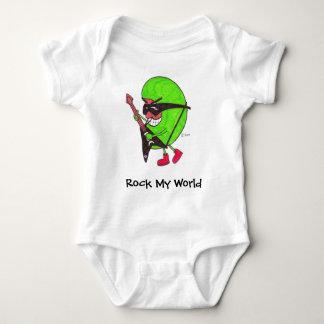 Rock My World baby squishy tee