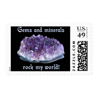 Rock My World Postage Stamp