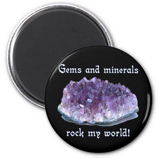 Rock My World Refrigerator Magnet