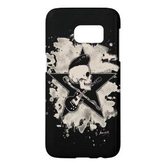 rock n rodada Skull - bleached Funda Samsung Galaxy S7