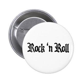 rock n roll 2 inch round button