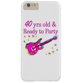 ROCK N ROLL 40TH BARELY THERE iPhone 6 PLUS CASE