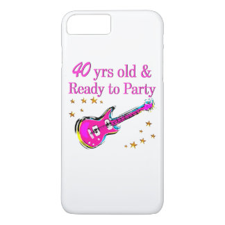 ROCK N ROLL 40TH iPhone 8 PLUS/7 PLUS CASE