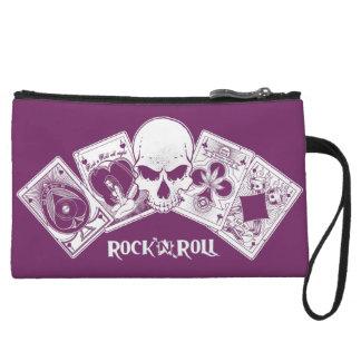 Rock n Roll Aces Wristlet Wallet