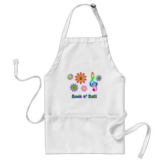 Rock n' Roll Adult Apron