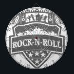 "rock-n-roll Band Dart Board<br><div class=""desc"">Rock n roll band design</div>"