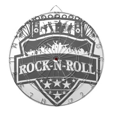 scorpionagency rock-n-roll Band Dart Board