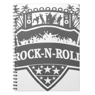 rock-n-roll Band Spiral Notebooks
