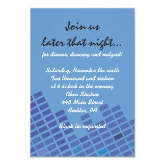 Rock n Roll Bar Bat Mitzvah Invitation Party Card