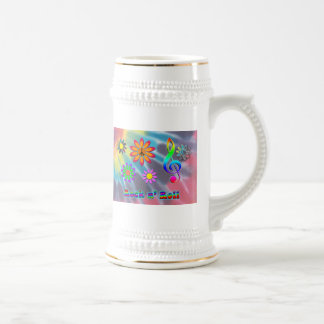 Rock n' Roll Beer Stein