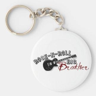 Rock-n-Roll Big Brother Keychain