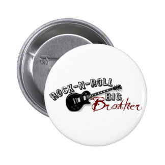 Rock-n-Roll Big Brother Pinback Button