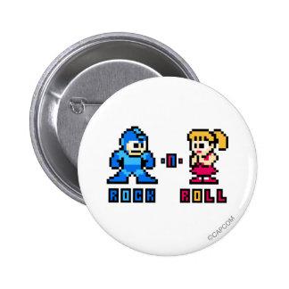 Rock-n-Roll Pinback Buttons