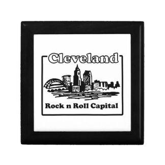 Rock N Roll Capital Keepsake Box