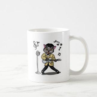 Rock 'n' Roll Cat Coffee Mug