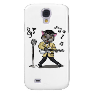 Rock 'n' Roll Cat Galaxy S4 Cover