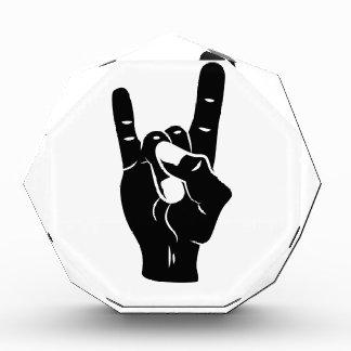 Rock n Roll Devil Horns Award