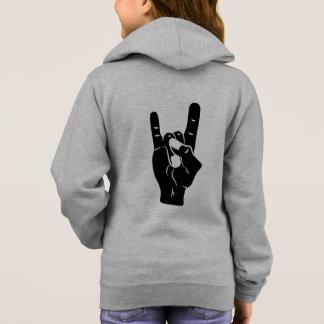 Rock n Roll Devil Horns Hoodie