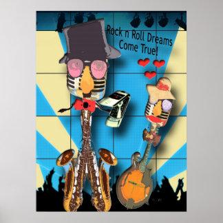 Rock n Roll Dreams Poster