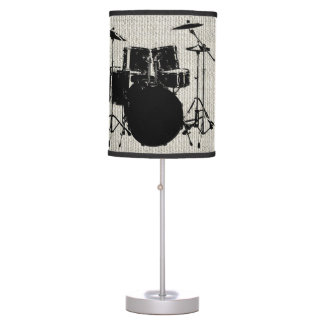Rock n Roll Drums Table Lamps