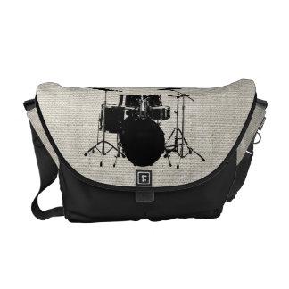Rock n Roll Drums Messenger Bag